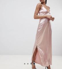 ZNIŽANO 50% satenasta maxi obleka