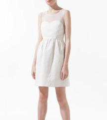 Bela obleka Zara