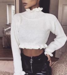 Crop top puloverček