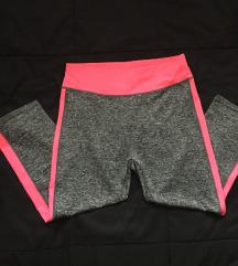 3/4 pajkice siva-pink barva št.M