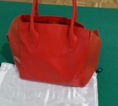 Furla usnjena torba, večja