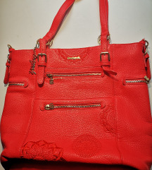 Desigual rdeča torbica