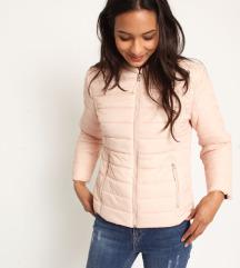 Dusty pink prehodna jaknica