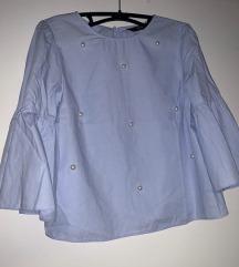 Zara bluza z perlicami