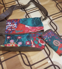 Desigual torba in denarnica