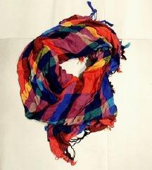 Boho scarf šal ruta NOVO