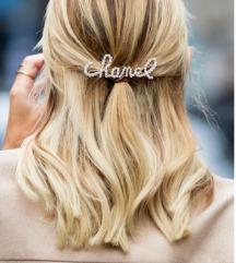 CHANEL hair clip lasna sponka