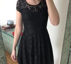 🎀 Črna čipkasta obleka 🎀