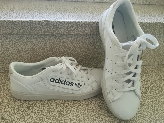 Adidas usnjeni
