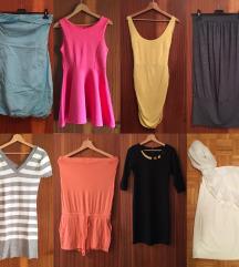 Kratke oblekce in pajac
