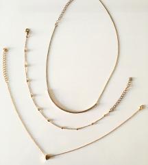 Ogrlica in uhani po izbiri