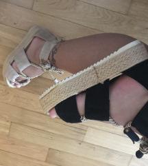 🌺Poletne sandale crne in bez barve 🌺