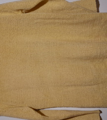 Zara rumen pulover