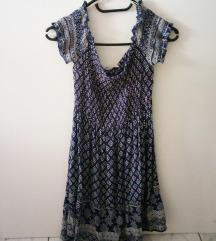 Poletna obleka z vzorcem
