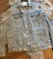 NOVA off-shoulder jeans jakna