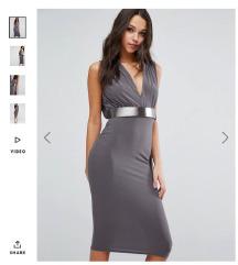 Nova Asos obleka XS, MPC 49 EUR