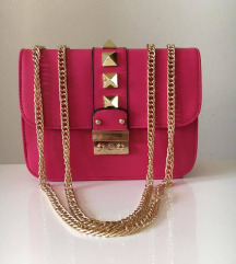 Clutch hot pink torbica
