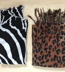 Leopard in zebra sal Zara