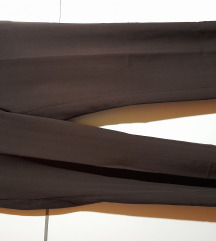 H&M elegantne rjave hlače