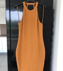Oranžna oblekica Amisu