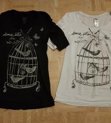 Majici s potiskom ptičje kletke