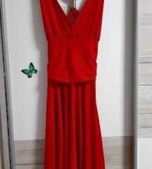 Rdeca obleka S