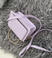 Lila manjsa torbica