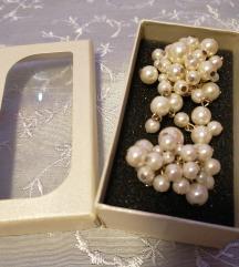 Elegantni prstan in broška ■KOMPLET