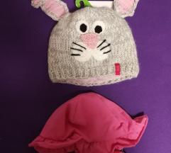 Zimska kapa in poletni klobucek