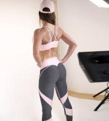 Udobne športne pajkice za jogo, fitnes, vadbe