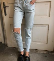Zara svetel jeans