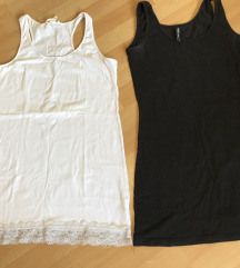 Daljši elastični majici ustrezata M