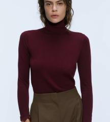 Zara rdeč pulover/puli