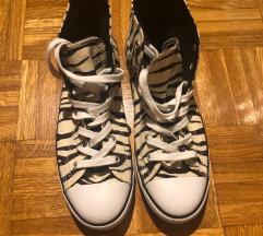 Converse All Star superge z vzorcem zebre
