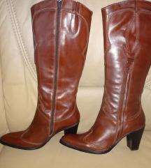 Usnjeni škornji Van Der Laan, 39