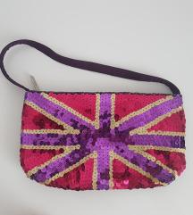 Mini torbica svetleca - nova! znižana cena