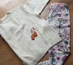 Pajkice Zara + pulover + uhani