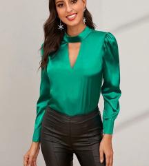 Zelena elegantna majica