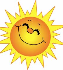 sonček kar kliče..da se poceni in lepo oblečeš :)