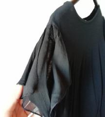 Zara črna majica št. S