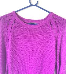 Živo vijoličen pulover H&M (s poštnino) za S,M,L