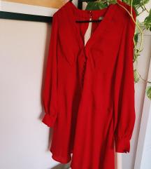 Rdeča obleka Asos