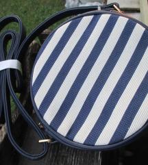 NOVA belo-modra torbica