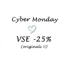 ❤️ CyberMonday VSE -25% ❤️