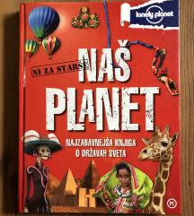 Nova knjiga NAŠ PLANET (34,96€)-prodam za 16€