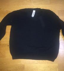 rebrast pulover