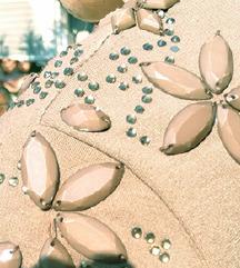 METROFIVE št. 36 / 38 obleka z kamenčki