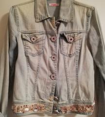 Blugirl jeans jakna s kristalčki