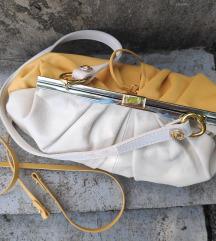 Belo rumena clutch torbica ZARA | PTT v ceni