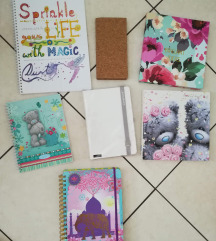 Notebooks, zvezki, beležke